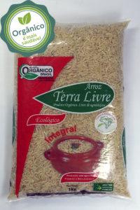 arroz terra livre - integral longo fino - barriga mole