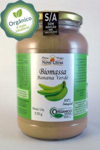 biomassa de banana verde 570g