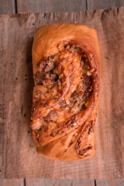 Pão de Salame e Queijo 2